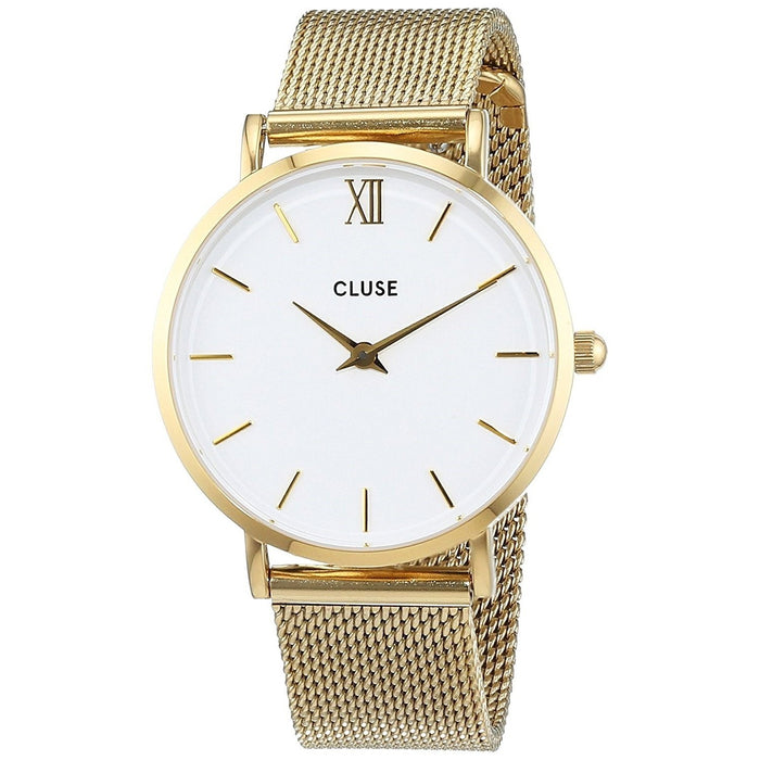 Cluse Women's CL30010 Minuit Gold-Tone Stainless Steel Watch