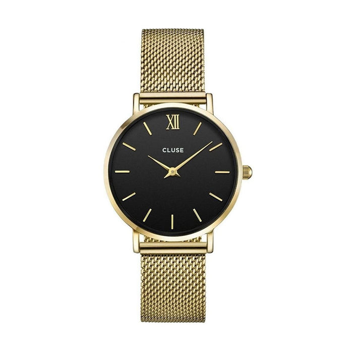 Cluse Women's CL30012 Minuit Gold-Tone Stainless Steel Watch