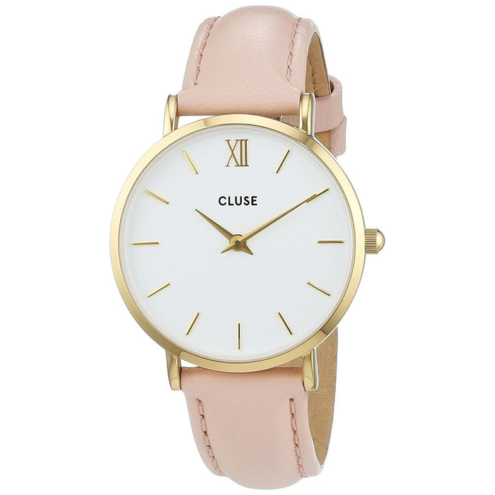 Cluse Women's CL30020 Minuit Pink Leather Watch
