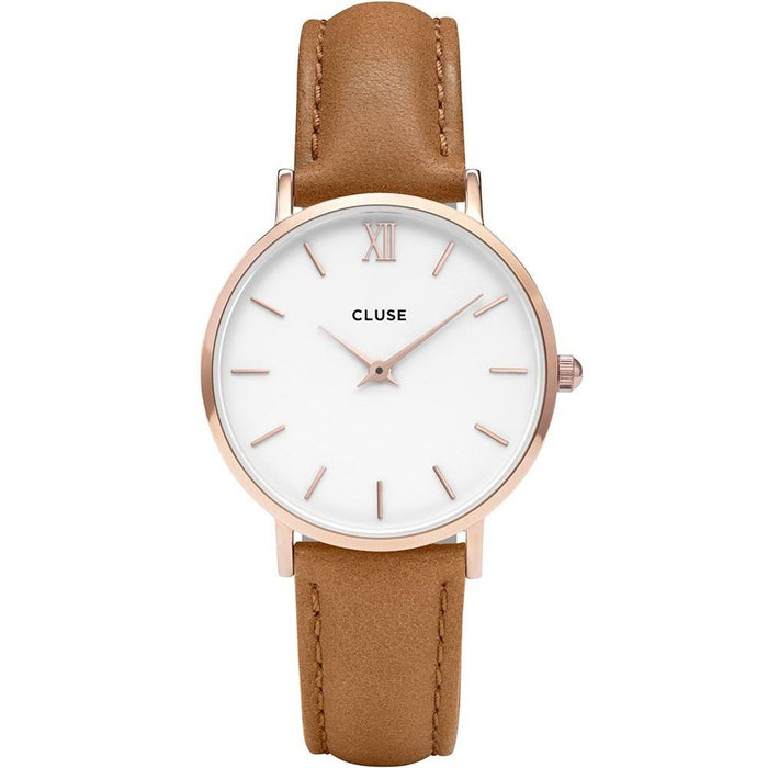 Cluse Women's CL30021 Minuit Brown Leather Watch