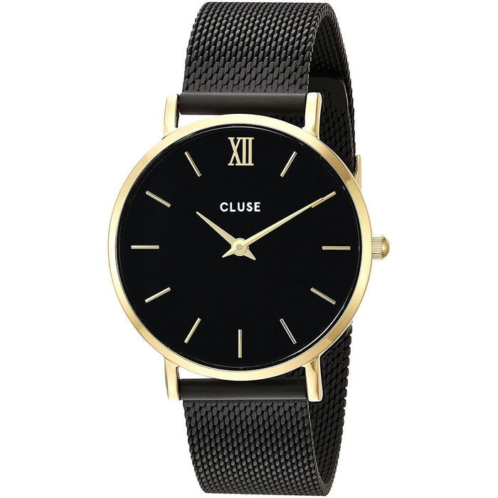 Cluse Women's CL30026 Minuit Black Stainless Steel Watch