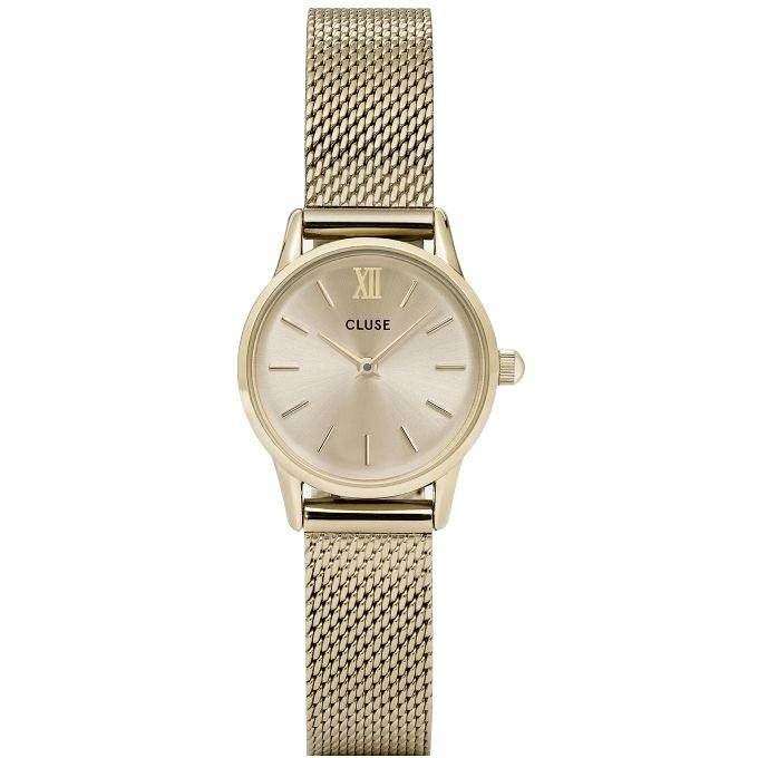 Cluse Women's CL50003 La Vedette Gold-Tone Stainless Steel Watch