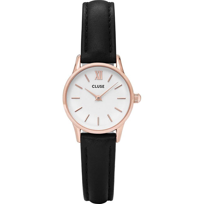 Cluse Women's CL50008 La Vedette Black Leather Watch