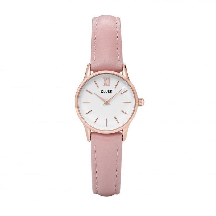 Cluse Women's CL50010 La Vedette Pink Leather Watch