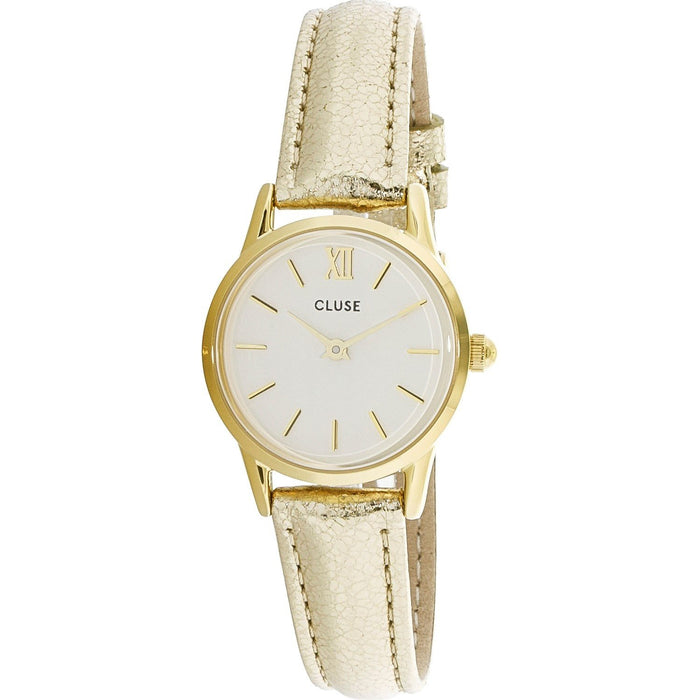 Cluse Women's CL50019 La Vedette Gold-Tone Leather Watch