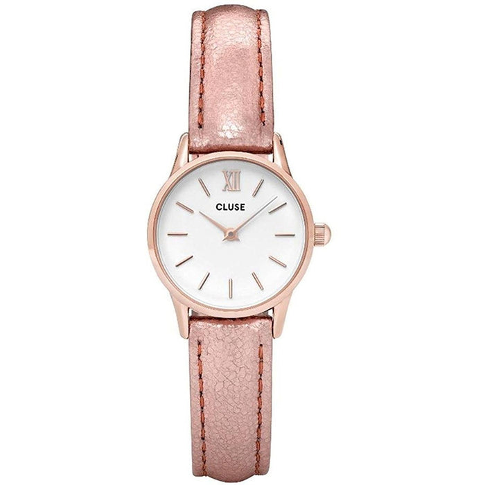 Cluse Women's CL50020 La Vedette Rose-Tone Leather Watch