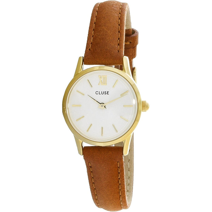 Cluse Women's CL50022 La Vedette Brown Leather Watch