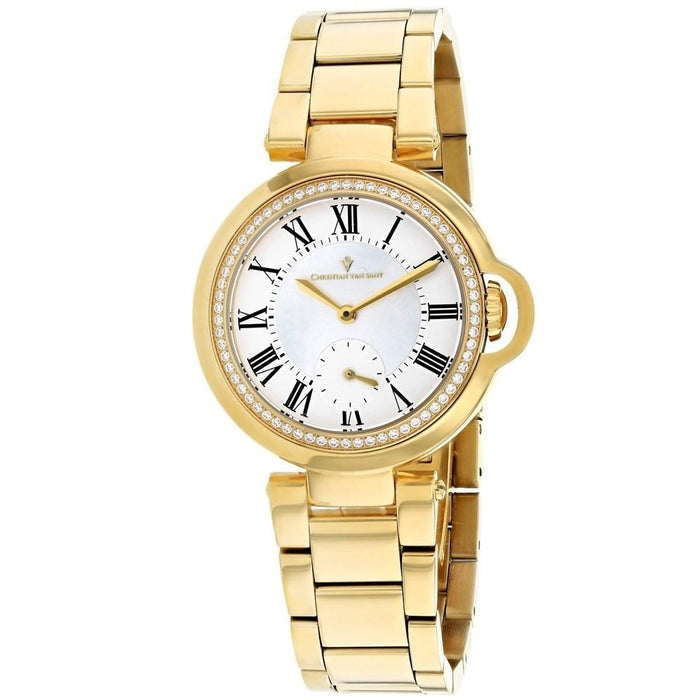 Christian Van Sant Women's CV0231 Cybele Gold-Tone Stainless Steel Watch