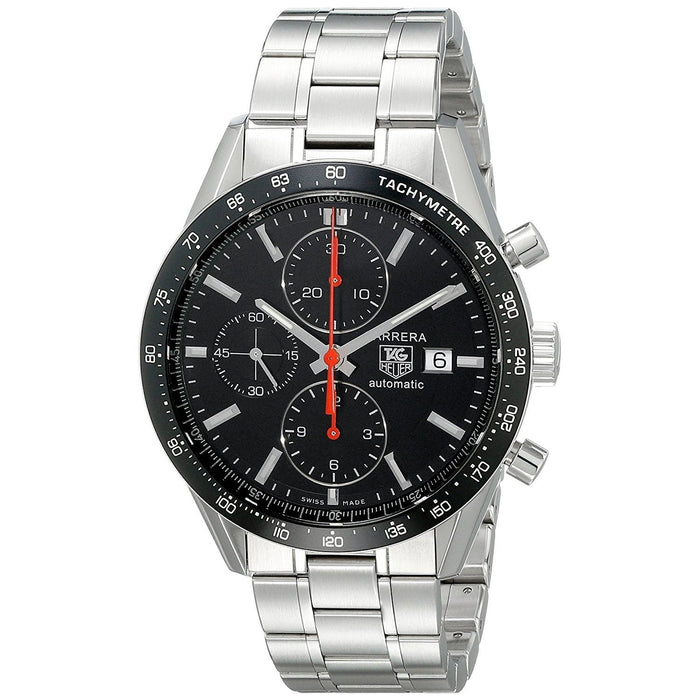 Tag Heuer Men's CV2014.BA0794 Carrera Chronograph Automatic Stainless Steel Watch