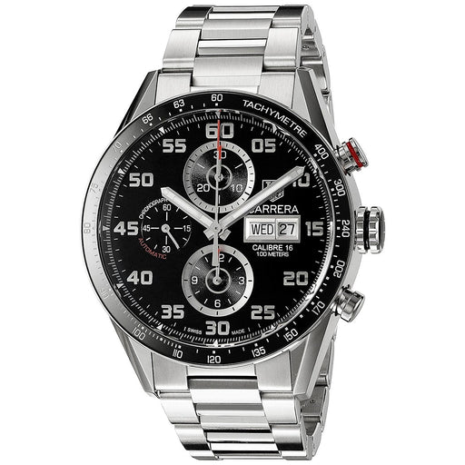 Tag Heuer Men's CV2A1R.BA0799 Carrera Chronograph Automatic Stainless Steel Watch