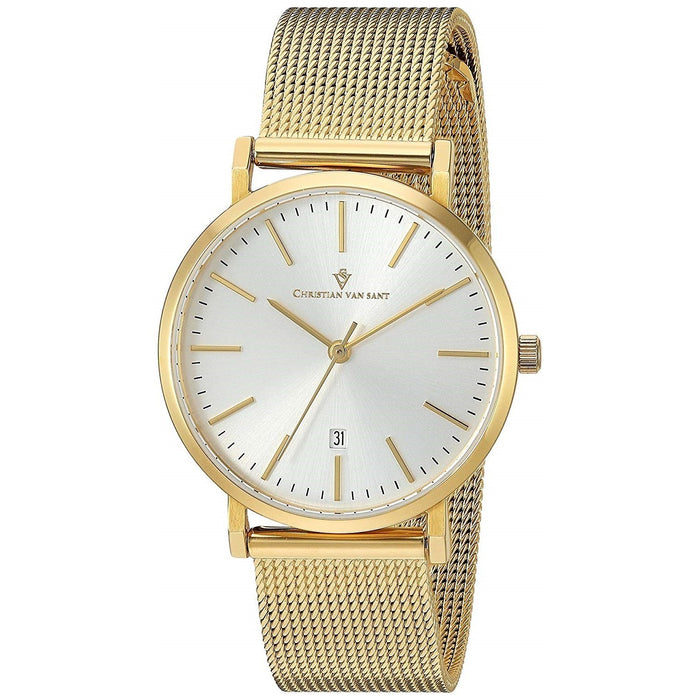 Christian Van Sant Women's CV4225 Paradigm Gold-Tone Stainless Steel Watch