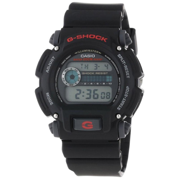 Casio Men's DW-9052-1V Classic Digital Black Rubber Watch