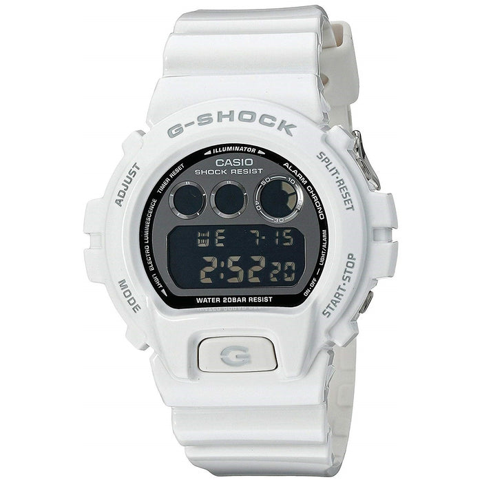 Casio Men's DW6900NB-7 G-Shock Metallic Limited Edition Digital White Resin Watch