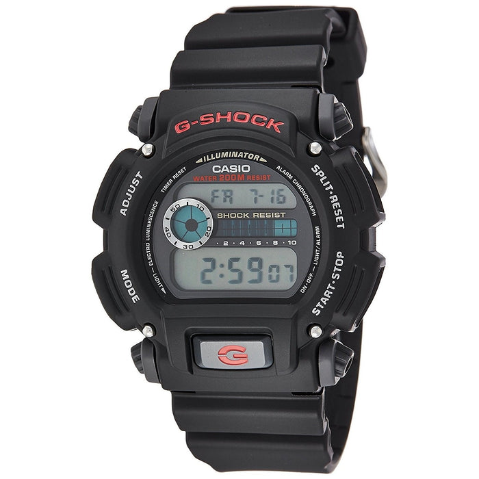 Casio Men's DW9052-1 G-Shock Digital Black Resin Watch