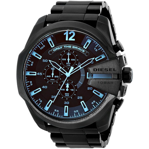 Diesel Men's DZ4318 Mega Chief Chronograph Black Stainless Steel Watch