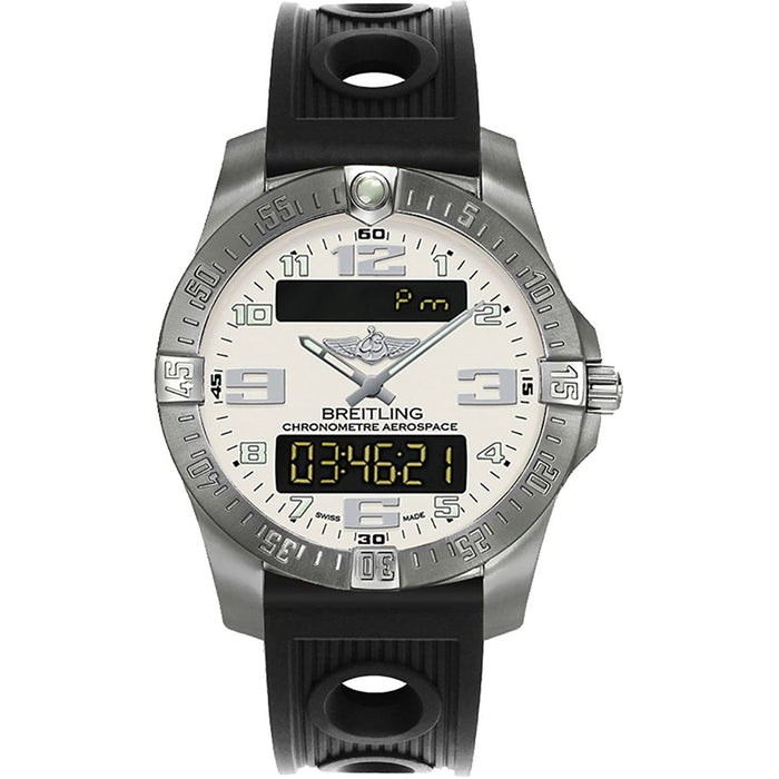 Breitling Men's E793637V-G817-200S Professional Aerospace Evo Black Rubber Watch