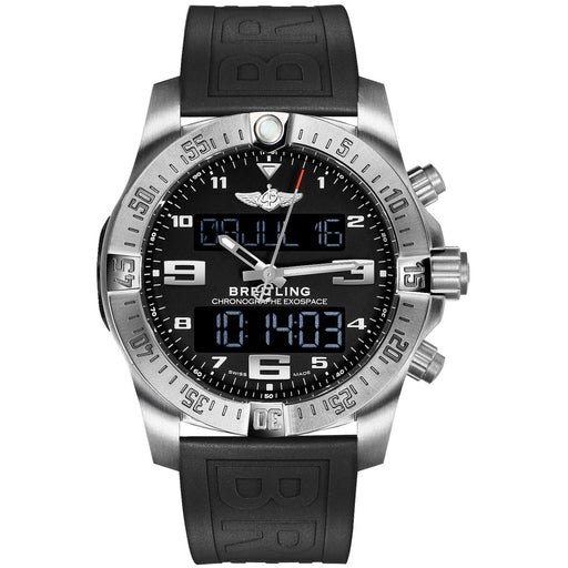 Breitling Men's EB5510H1-BE79-263S Exospace  Black Rubber Watch