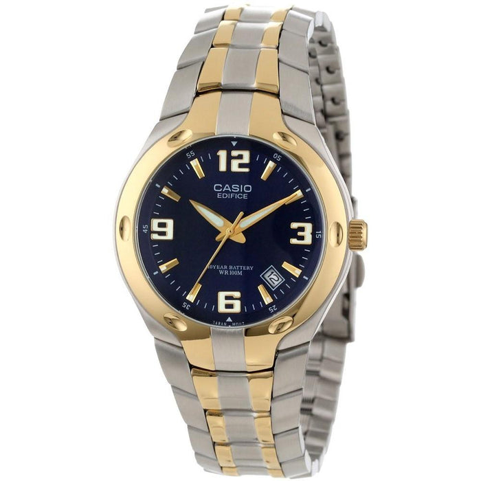 Casio Men's EF-106SG-2AV Classic Two-Tone Stainless Steel Watch