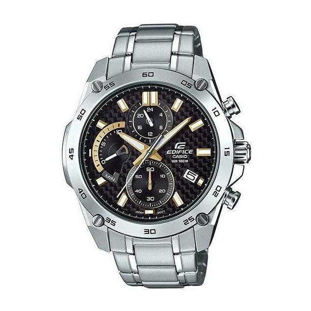 Casio Men's EFR557CD-1A9 Edifice Chronograph Stainless Steel Watch