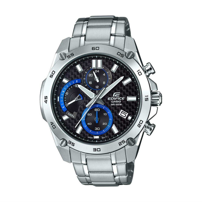 Casio Men's EFR557CD-1A Edifice Chronograph Stainless Steel Watch