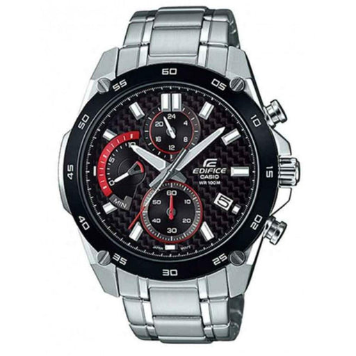 Casio Men's EFR557CDB-1A Edifice Chronograph Stainless Steel Watch