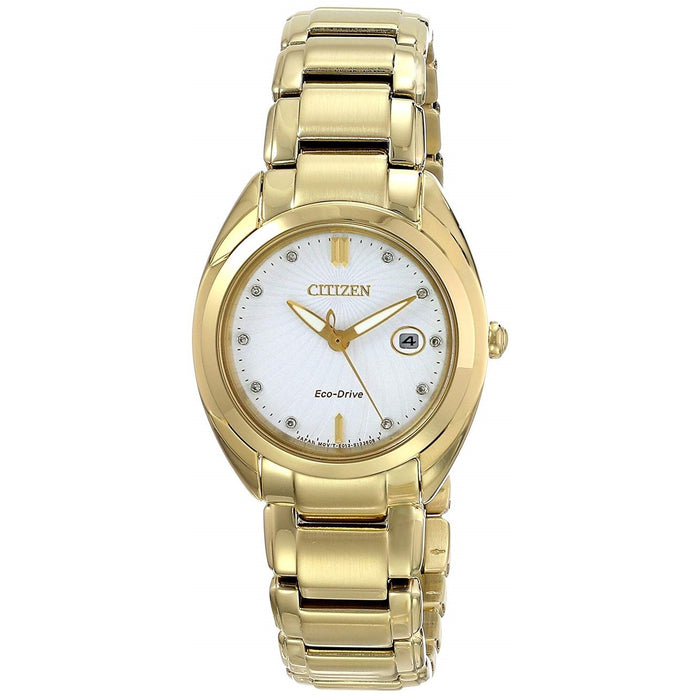 Citizen Women's EM0312-57A Celestial Gold-Tone Stainless Steel Watch