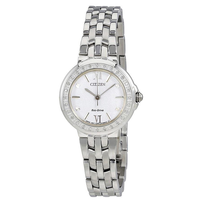 Citizen Women's EM0440-57A Diamond Stainless Steel Watch