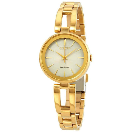 Citizen Women's EM0638-50P Axiom Gold-Tone Stainless Steel Watch