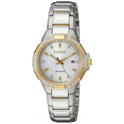 Citizen Women's EW2464-55A Riva Two-Tone Stainless Steel Watch