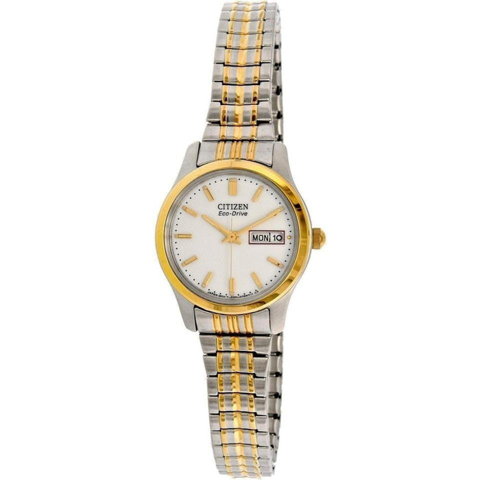 Citizen Women's EW3154-90A Corso Two-Tone Stainless Steel Watch