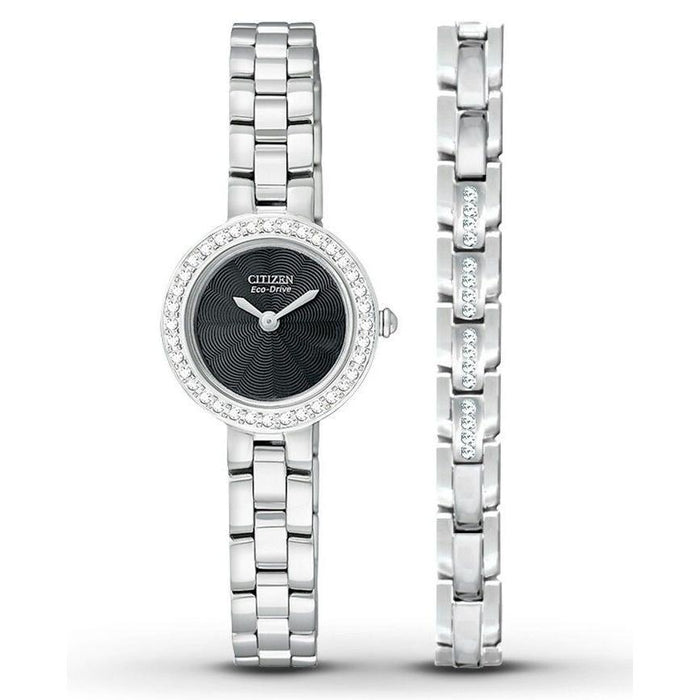 Citizen Women's EX1080-64E Eco-Drive Stainless Steel Watch