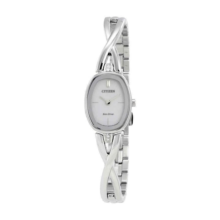 Citizen Women's EX1410-53A Silhouette Stainless Steel Watch