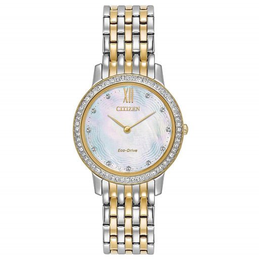Citizen Women's EX1484-57D Silhouette Two-Tone Stainless Steel Watch