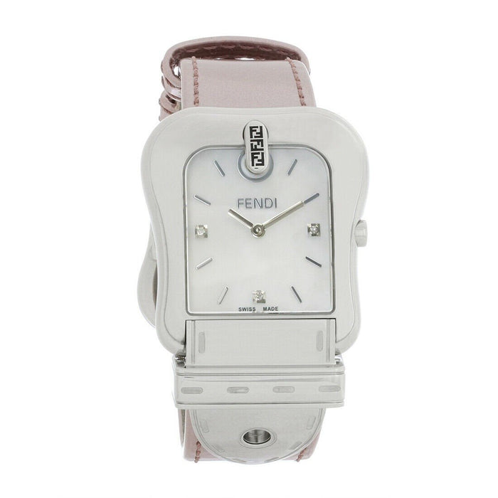 Fendi Women's F380014571D1 Fendi B Pink Leather Watch