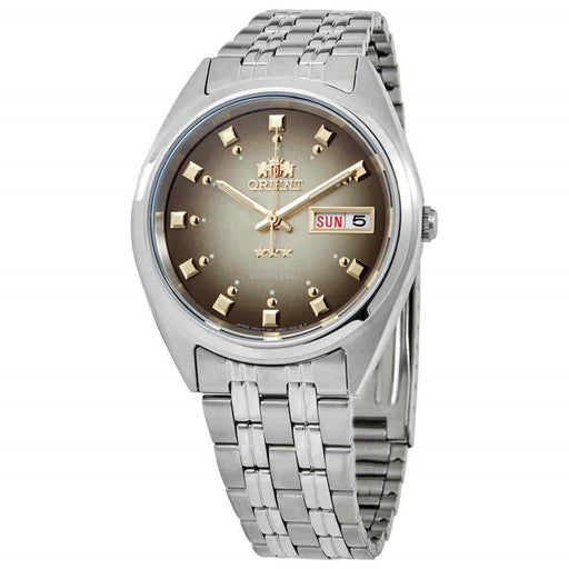 Orient Men's FAB00009P9 Tri Star Stainless Steel Watch