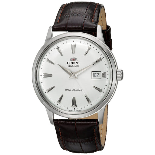 Orient Men's FAC00005W0 Bambino 2nd Generation Automatic Brown Leather Watch