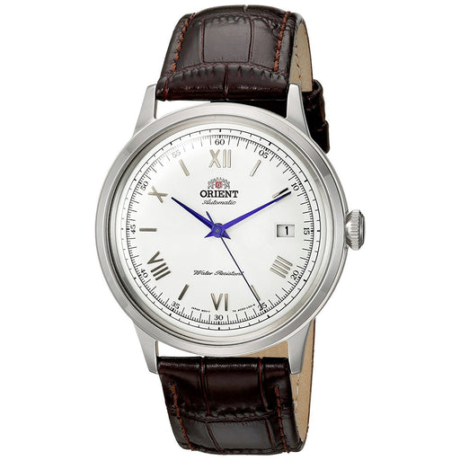 Orient Men's FAC00009W0 Bambino 2nd Generation Automatic Brown Leather Watch