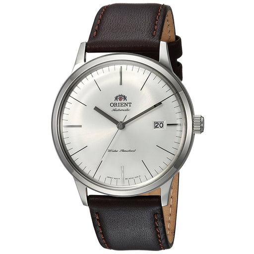 Orient Men's FAC0000EW0 Bambino 2nd Generation Automatic Brown Leather Watch