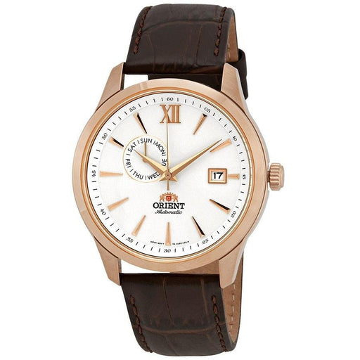 Orient Men's FAL00004W0 Contemporary Automatic Brown Leather Watch