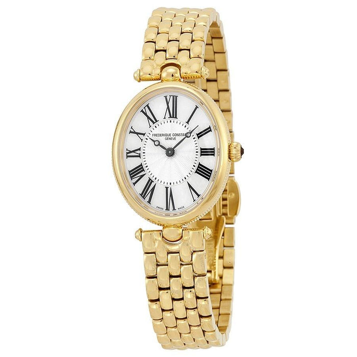 Frederique Constant Women's FC-200MPW2V5B Art Deco Gold-Tone Stainless Steel Watch