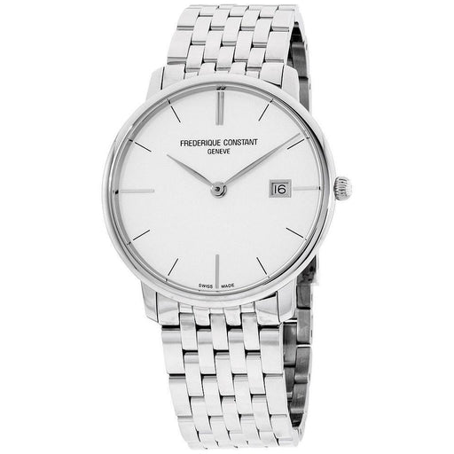 Frederique Constant Men's FC-220S5S6B Slimline Stainless Steel Watch
