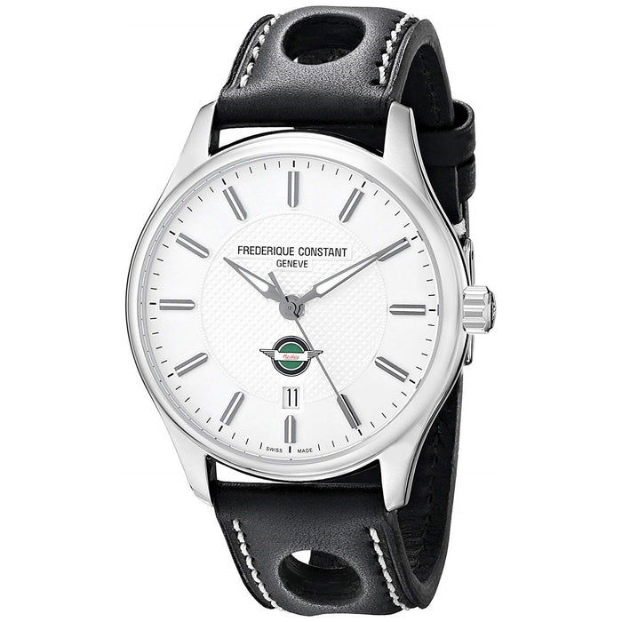 Frederique Constant Men's FC-303HS5B6 Healey Black Leather Watch