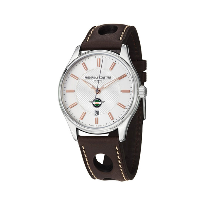 Frederique Constant Men's FC-303HV5B6 Healey Brown Leather Watch