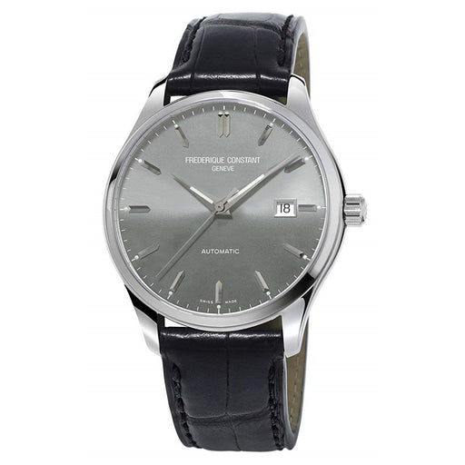 Frederique Constant Men's FC-303LGS5B6 Classics Black Leather Watch