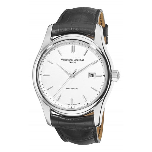 Frederique Constant Men's FC-303S6B6 Classics Black Leather Watch
