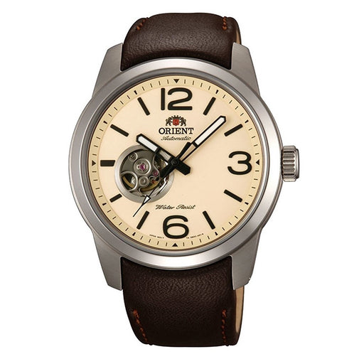 Orient Men's FDB0C005Y0 Scout Automatic Brown Leather Watch