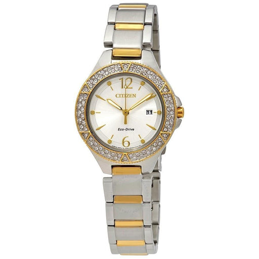 Citizen Women's FE1164-53A Silhouette Crystal Two-Tone Stainless Steel Watch