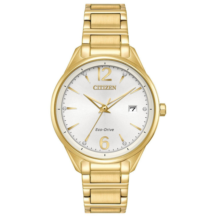 Citizen Women's FE6102-53A Chandler Gold-Tone Stainless Steel Watch