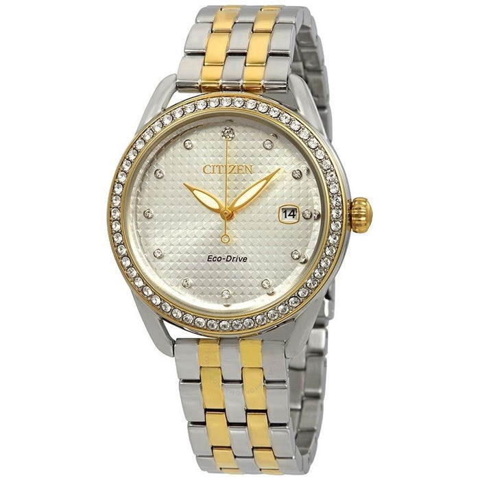 Citizen Women's FE6114-54A LTR Two-Tone Stainless Steel Watch