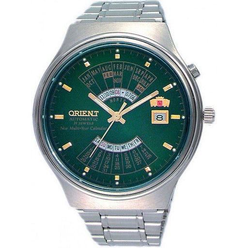 Orient Men's FEU00002FW Multi Year Calendar Stainless Steel Watch